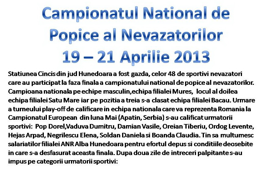 Campionatul National de popice 19-21-2013.1.1